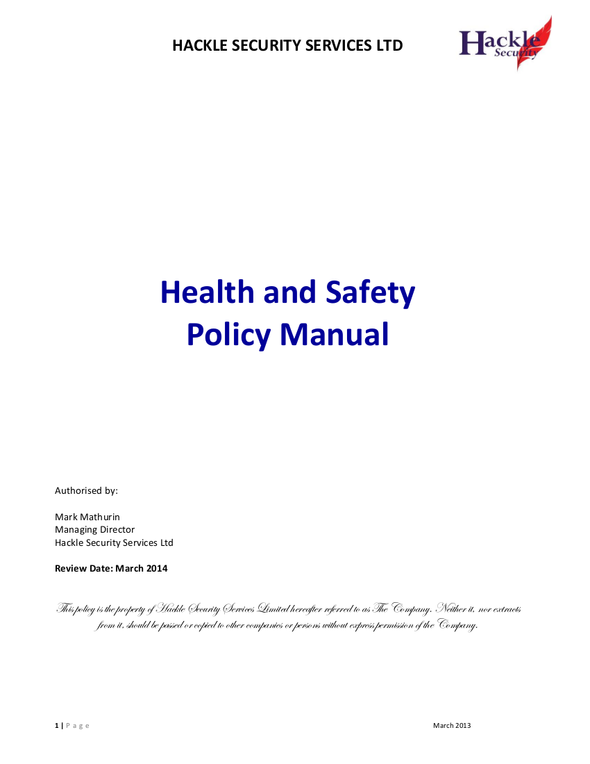 electrical safety manual free download