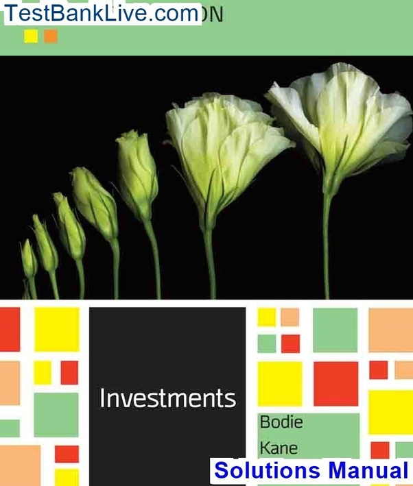 investments 10th edition solutions manual pdf