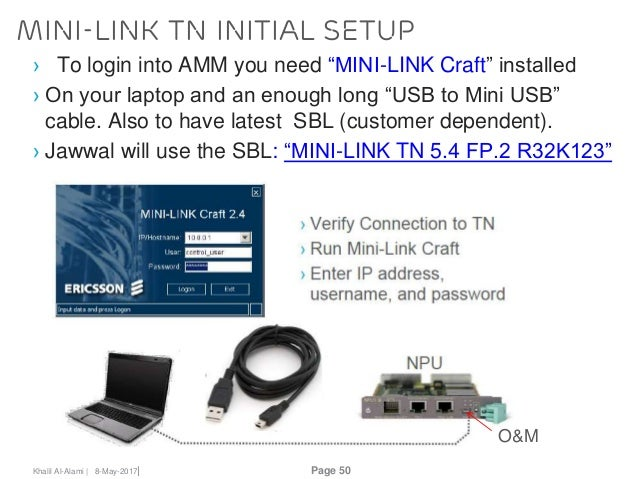 ericsson mini link configuration manual