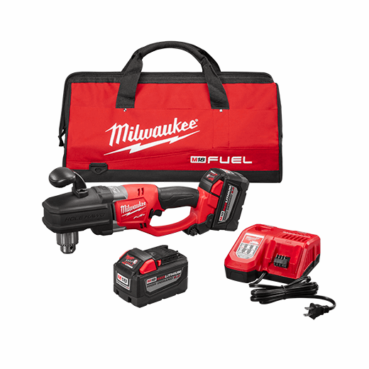 milwaukee right angle drill manual