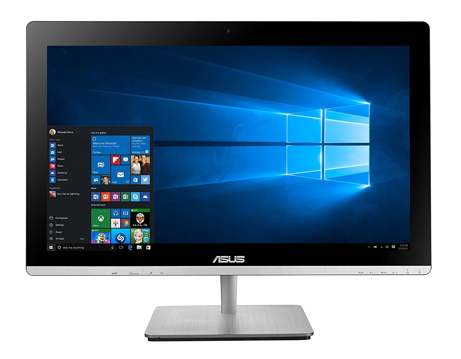 asus all in one pc manual
