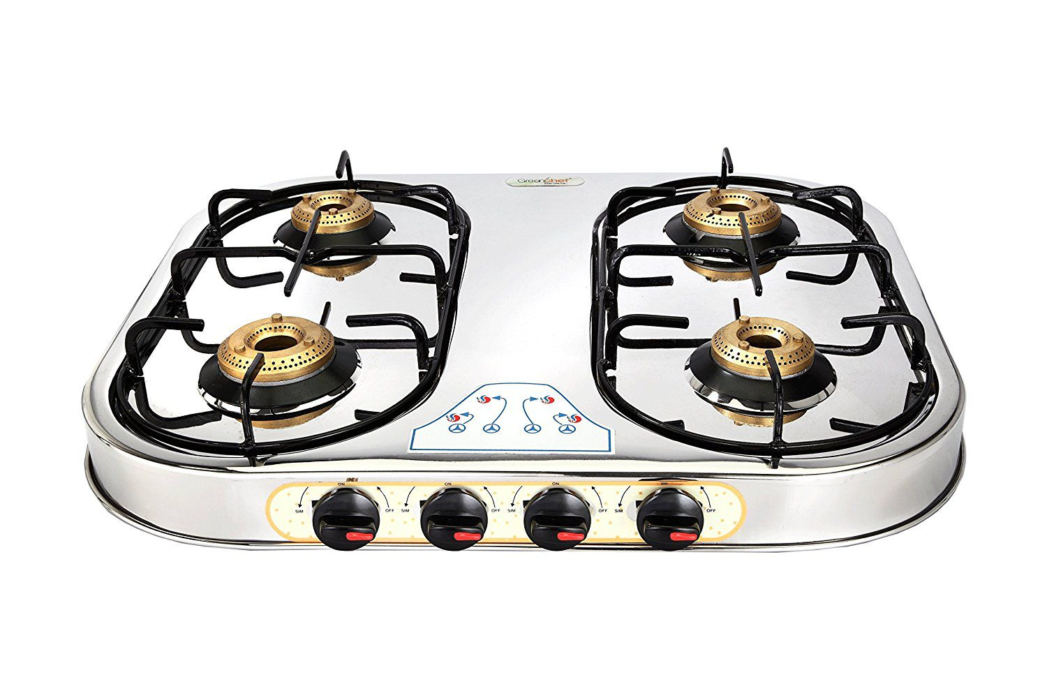chef select gas oven manual