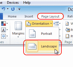 how to insert a manual page break in word 2010